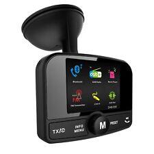FirstE Car DAB+ Radio Adapter Bluetooth FM Transmitter,Portable DAB Digital CAR