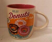 Doughnut Coffee Mug Nostalgic Art Deco