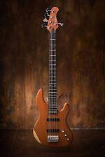 Wolf 5-string Jazz Bass Solid Bubinga Top [neck-through]