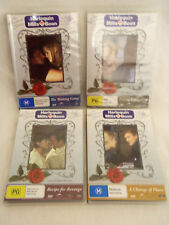 4 ASSORTED HARLEQUIN MILLS BOON DVD'S - 3 ARE SEALED