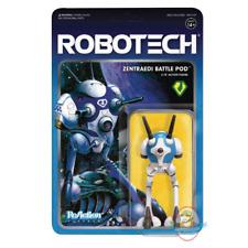 Robotech 3.75 inch ReAction Series 1 Zentraedi Battlepod Super 7