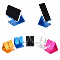 Universal Aluminum Cell Phone Desk Stand Holder for Tablet Samsung iPhone FT
