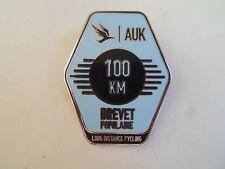 GOOD Enamelled Badge AUK 100 KM Brevet Populaire Long Distance Cycling