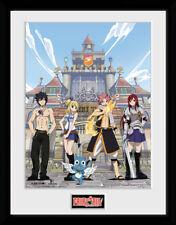 Fairy Tail Temporada 1 teclas de impresión de coleccionista de arte