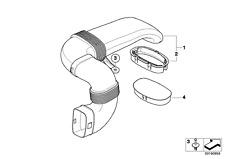 New OE Genuine Intake Duct 13717799364