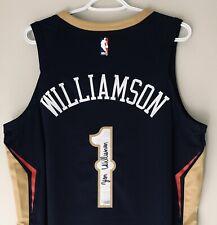 Zion Williamson Signed Pelicans Nike NBA Authentic Aeroswift Jersey FANATICS COA