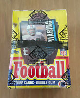 VINTAGE 1985 TOPPS NFL FOOTBALL CARDS WAX BOX SEALED by BBCE - WARREN MOON RC