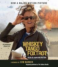 Whiskey Tango Foxtrot Kim Barker CD audiobook Unabrdgd Brand New Taliban Shuffle