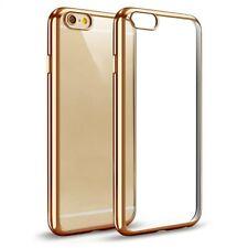 ^ BUMPER CLEAR Transparent Cover Schale Silikon Tasche Für Huawei P Smart Gold