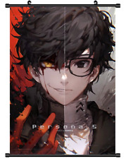 "Hot Japan Game Persona 5 Ren Akira Poster Wall Scroll Home Decor 8""×12"" F53"