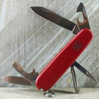 Victorinox Tinker Swiss Army Knife Red Multi-Tool Camp EDC Very Good Condition