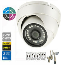 Hd Cvi 1080P Dome Camera 2.0Mp Sony Cmos 2.8mm Fixed 24 Ir Outdoor 4 in 1