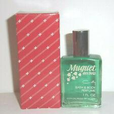 Muguet Des Bois Bath & Body Perfume 1oz  Splash by Coty