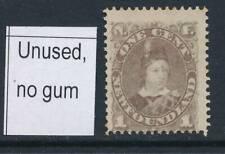 NEWFOUNDLAND, 1880 1c dull grey-brown unused no gum, SG50