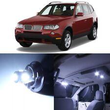 15 x Error Free White LED Interior Light For 2004-2010 BMW X3 Series E83 + TOOL