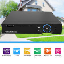 Security Cloud DVR 8CH 5-in-1 1080p HDMI H.265 Recorder for CCTV Camera System