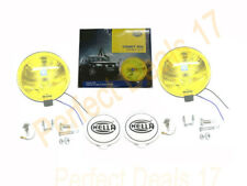 Hella Comet 500 12v H3 Yellow Driving Lamp Pair - Jeep,Truck, 4x4, Suv, Van, Car