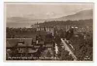Canada BC British Columbia - Vancouver - West End / Comox Street - RPPC Postcard