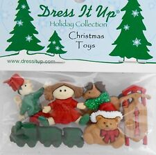 Dress It Up 6682 Christmas Toys Embellishment