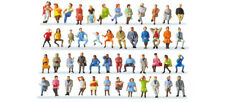 HO Scale People - Pack of 48 Seated Travellers