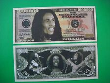 Worldwide REGGAE Legend: BOB MARLEY ~*~ $1,000,000 One Million Dollars ~ Rasta