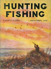 Hunting and Fishing--Nov. 1933-----281