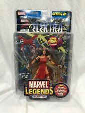 Marvel Legends ELEKTRA SERIES IV NIB WITH COMIC BOOK AND STAND