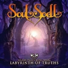 SOULSPELL - THE LABYRINTH OF TRUTH  CD NEU