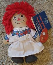 "Raggedy Ann 85th Birthday Anniversary 6"" Stuffed Doll Dakin New with Tags"