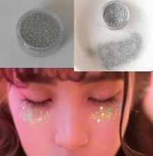 Plata Fina Polvo Purpurina Uñas Arte Festival Purpurina Sombra de ojos
