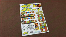 Valentino Rossi 46 The Doctor Yamaha Honda Aprilia Stickers Decals Signature Kit