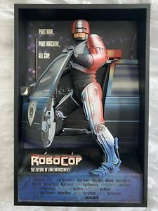 RARE Robocop 3D Movie Poster 2007 McFarlane Pop Culture Toys