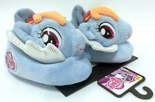 My Little Pony Rainbow Dash Plush Toddler Boys Girls Sock Top Slippers Small 5/6