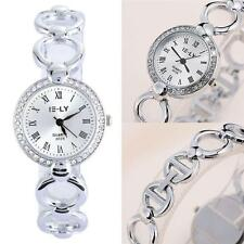 HOT Fashion Classic Women Quartz Stainless Steel Analog Wrist Watch Bracelets KJ