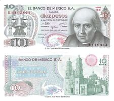 MEXIQUE 10 pesos 1975 P-63h billets UNC