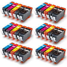 30PK Combo Printer Ink chipped for Canon 220 221 MP560 MP640 iP4600 iP4700 MX860