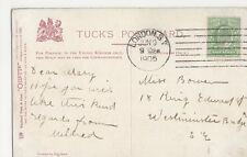 London S.W. 1905 Machine Postmark on Postcard #2, B106
