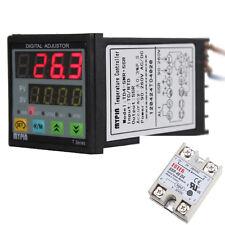 Digital PID 40A SSR Thermostat SNR Temperature Controller J S K E Thermocouple