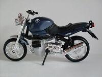BMW R1100R blau metallic, Bburago Motorrad Modell 1:18, Neu, OVP