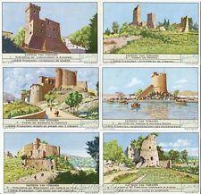 Chromo Liebig Sang. 1413 FIA Castelli Storici Toscani ANNO 1940