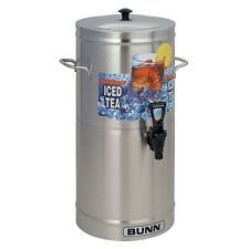 BUNN TDS-3 3-Gallon Iced Tea Dispenser with Side Handles 33000.0000