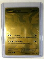 Zekrom 115/113 EX Gold secret rare Full Art Legendary Treasures