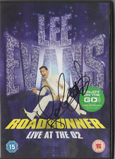 LEE EVANS - Signed DVD - COMEDY - ROADRUNNER LIVE AT THE O2