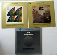 QUADRAPHONIC Lot of 3 LPs classical #2284
