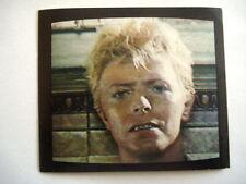 DAVID BOWIE * RARISSIME IMAGE VIGNETTE N°66 - 1980 ASHES TO ASHES DAVID MALLET