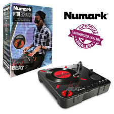 NUMARK PT01 SCRATCH Portable Turntable w/ DJ Scratch Switch 676762316415