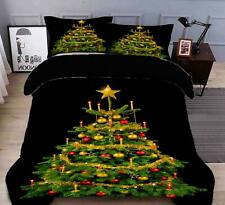 3D Decorative Tree N464 Christmas Quilt Duvet Cover Xmas Bed Pillowcases Fay