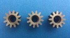 Novak 3-Pack 12T MOD 1 5mm Bore Hardened Steel Pinion Gears