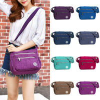 US Women Tote Messenger Cross Body Handbag Hobo Bag Ladies Shoulder Bag Purse