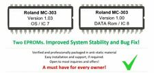 Roland MC-303 MC303 V. 1.03 Firmware OS Upgrade EPROM Update [Latest Version]